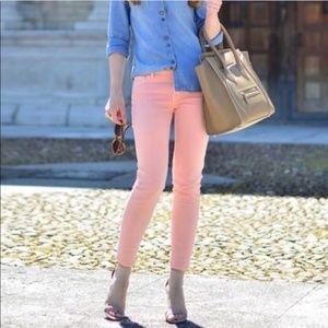 🥥 cabi Blush pink curvy skinny jeans